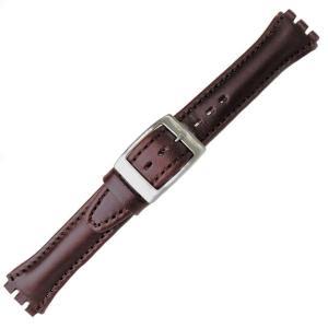 Curea ceas tip Swatch din piele naturala nr. 286 [17-SW18]